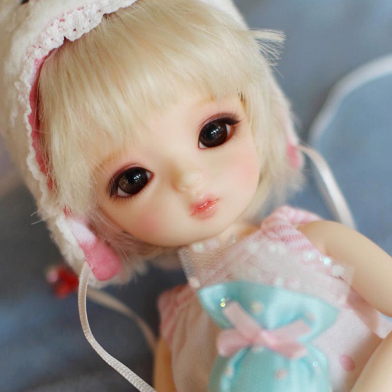 Free Shipping New Arrival 1/6 BJD Doll BJD/SD Fashion Cute Resin Doll With Make Up For Baby Girl Brithday Gift new arrival 1 4 bjd doll bjd sd fashion cute fish mermaid resin doll for baby girl birthday gift