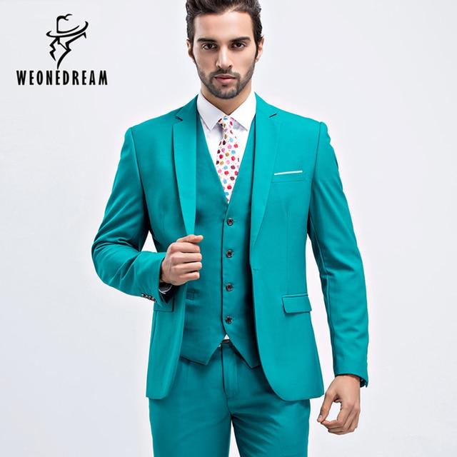 788600cdb2c7 Men Suit Slim Fit Men Purple Suits Plus Size Mens Wedding Suits Business  Mens Formal Wear Mens 3 Piece Suits (Jacket+Vest+Pants)