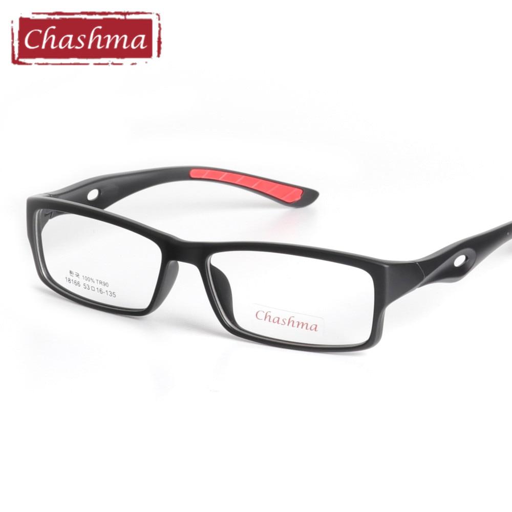 Sports frames for eyeglasses - Chashma Tr90 Sports Full Frame Eyewear Ultra Light Play Riding Myopia Eye Glasses Frames For Men