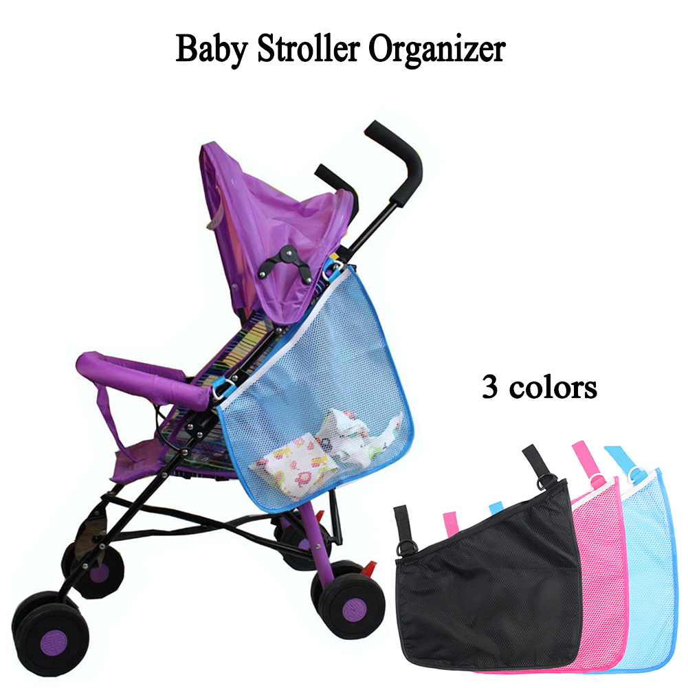 Baby Stroller Accessories Storage Bag New Stroller Organizer Baby Carriage Pram Buggy Cart Bottle Bag Car Bag