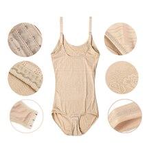 Sexy Lady Full Body Waist Trainer Shaper Breathable Corset Shapewear Bodysuit Women's Tummy Control Underbust Slimming Underwear