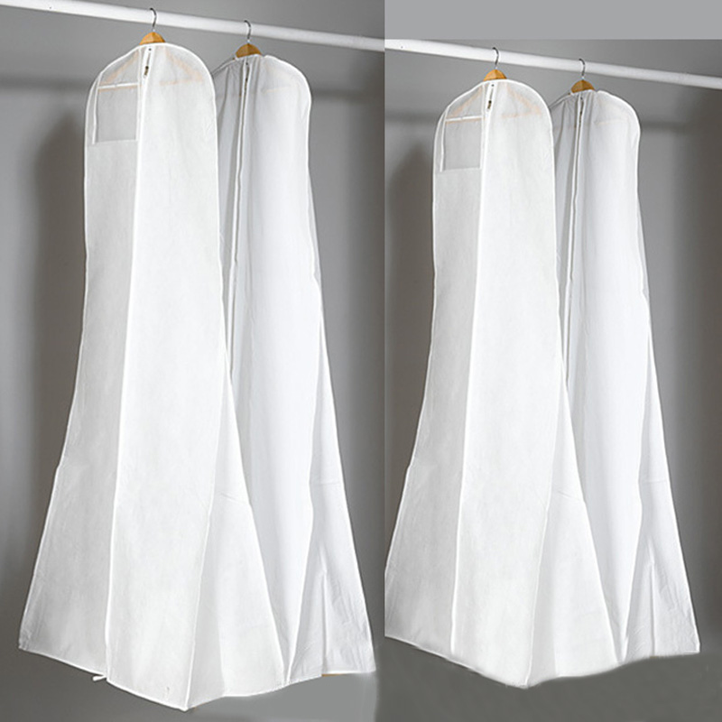 Fashion Wedding Dress Cover Dustproof Covers Storage Bag Extra Large Garment Bridal Gown Long Clothes Protector Case @LS