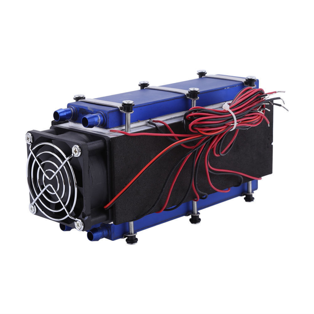 12V 576W 8 Chip TEC1-12706 DIY Thermoelectric Cooler Refrigeration Cooling Fan
