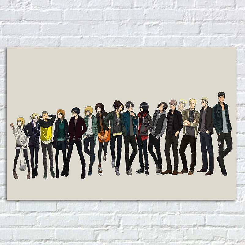 Attack On Titan Poster Anime Prints Posters Annie Leonhart