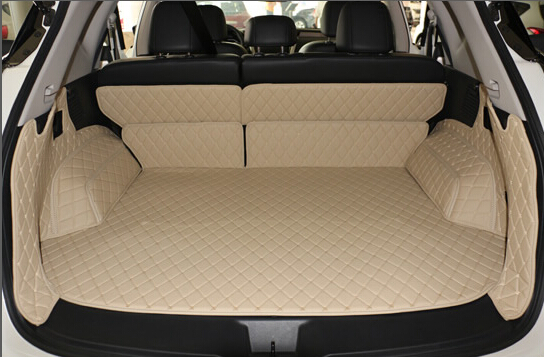 Good mats! Special trunk mats for Nissan Murano 2018-2015 waterproof boot carpets cargo liner mats for Murano 2017,Free shipping