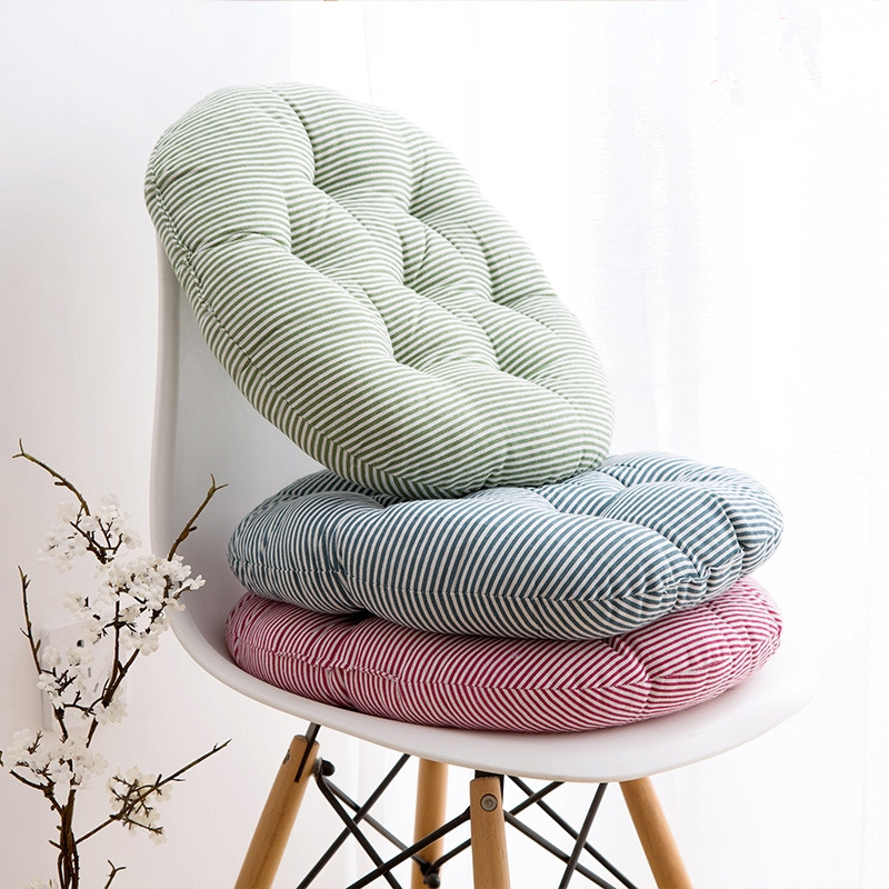 Free Shipping 40 40cm Chair Pad Cushion Pearl Cotton: Cheap 40*40cm Cotton Hemp Round Cushion TaTaMi Mat Mat