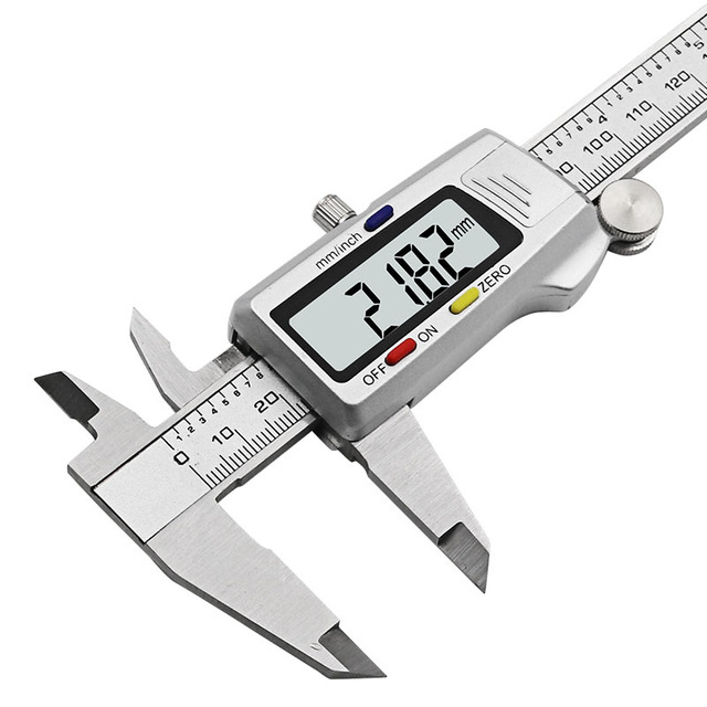 "Measuring Tool Stainless Steel Digital Caliper 6 ""150mm Messschieber paquimetro measuring instrument Vernier Calipers"