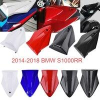 S1000 RR 14 15 16 17 18 Seat Cowl Rear Passenger Pillion Seat Cover for 2014 2018 BMW S1000RR S 1000 RR Accessories Carbon Fiber