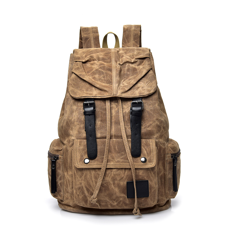 2018 A Quality Outdoor Travel Luggage Army Bag Hiking Backpack Tactical Rucksack Men Military Canvas Camping