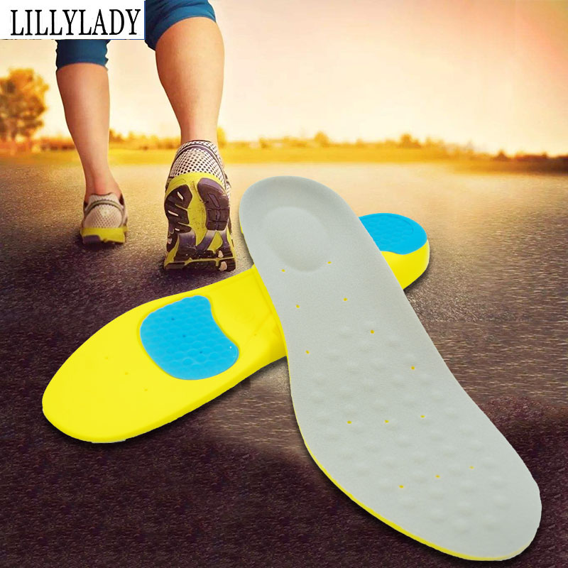 Memory Foam Orthotics Arch Pain Relief Support Shoes Insoles Insert Pads Sports For Feet Man Women Shoes Sole Stretch Breathable