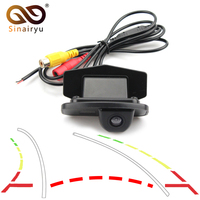 Video Parking Assistance Intelligent Dynamic Trajectory Tracks Rear View Camera For Honda CRV CR V Odyssey