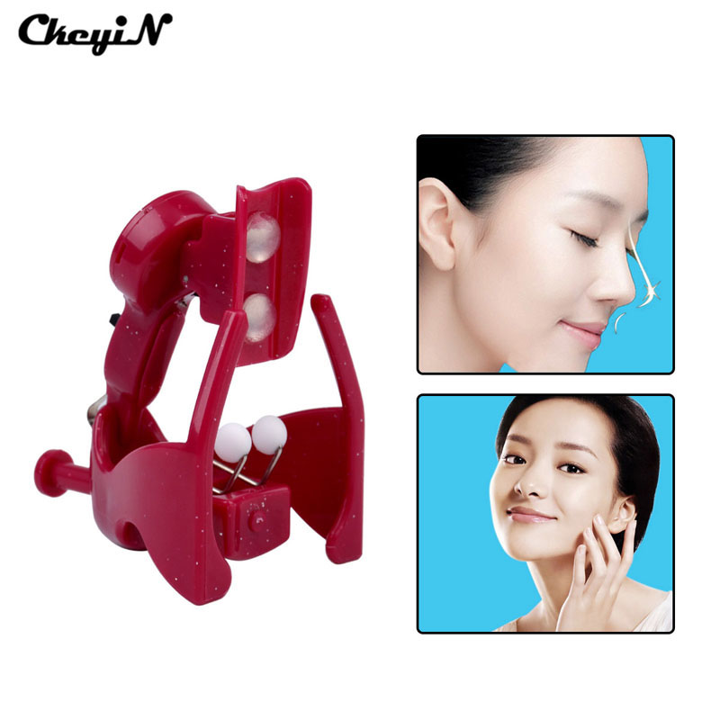 Electric High Nose Up Lifter U Shaping Shaper Lifting Bridge Straightening Silicone Gel Corrector Slimming Massager Clip S36