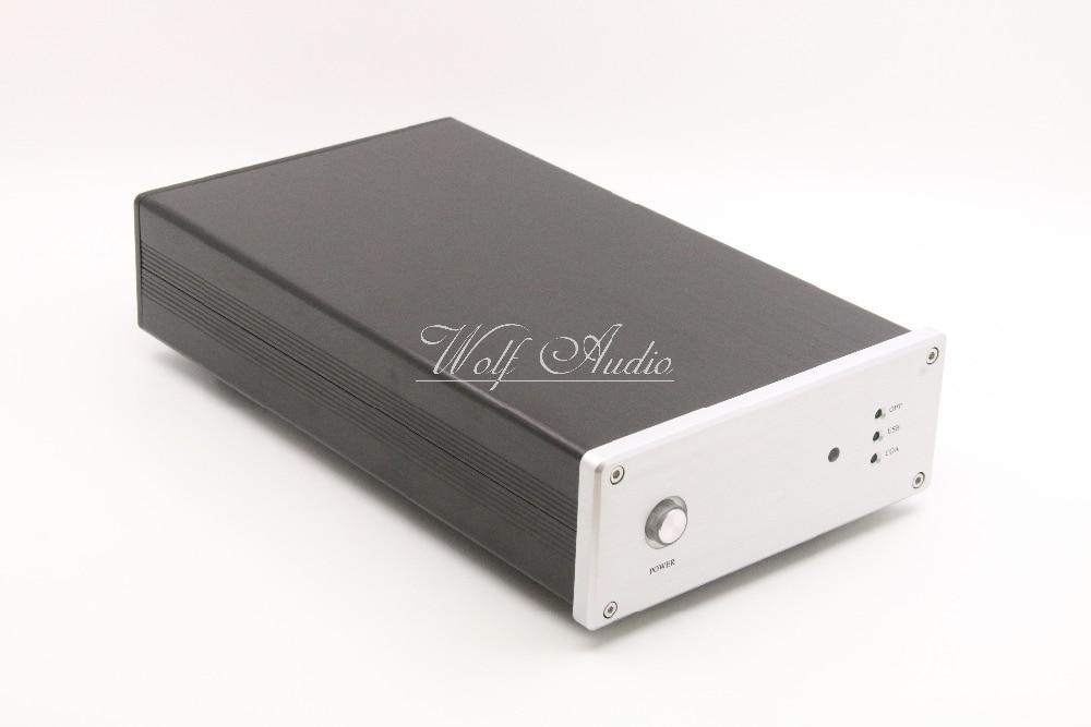Terminado WM8741 + CS8416 + OPA2604AP * 3 DAC Decodificador de Audio Coaxial Ópt