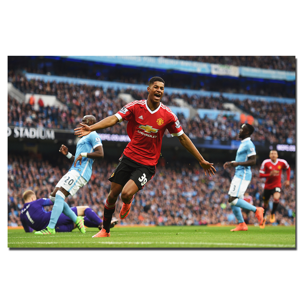 Marcus Rashford Football Player Poster Print For Home Decor Wall Art Picture Canvas Painting Decoration For Living Room Buy At The Price Of 8 89 In Aliexpress Com Imall Com