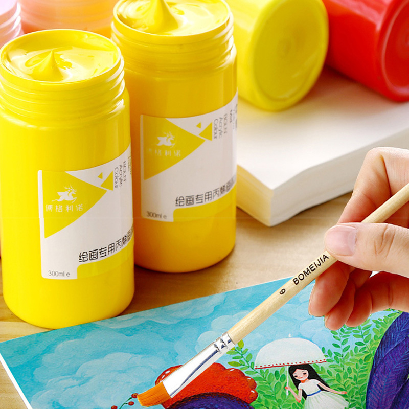 300ml acrylic paint, interior wall painting, hand-painted, painted, sketch, diy pigment, plaster doll pigment, graffiti pigment блэйзер pigment sst33179 2014