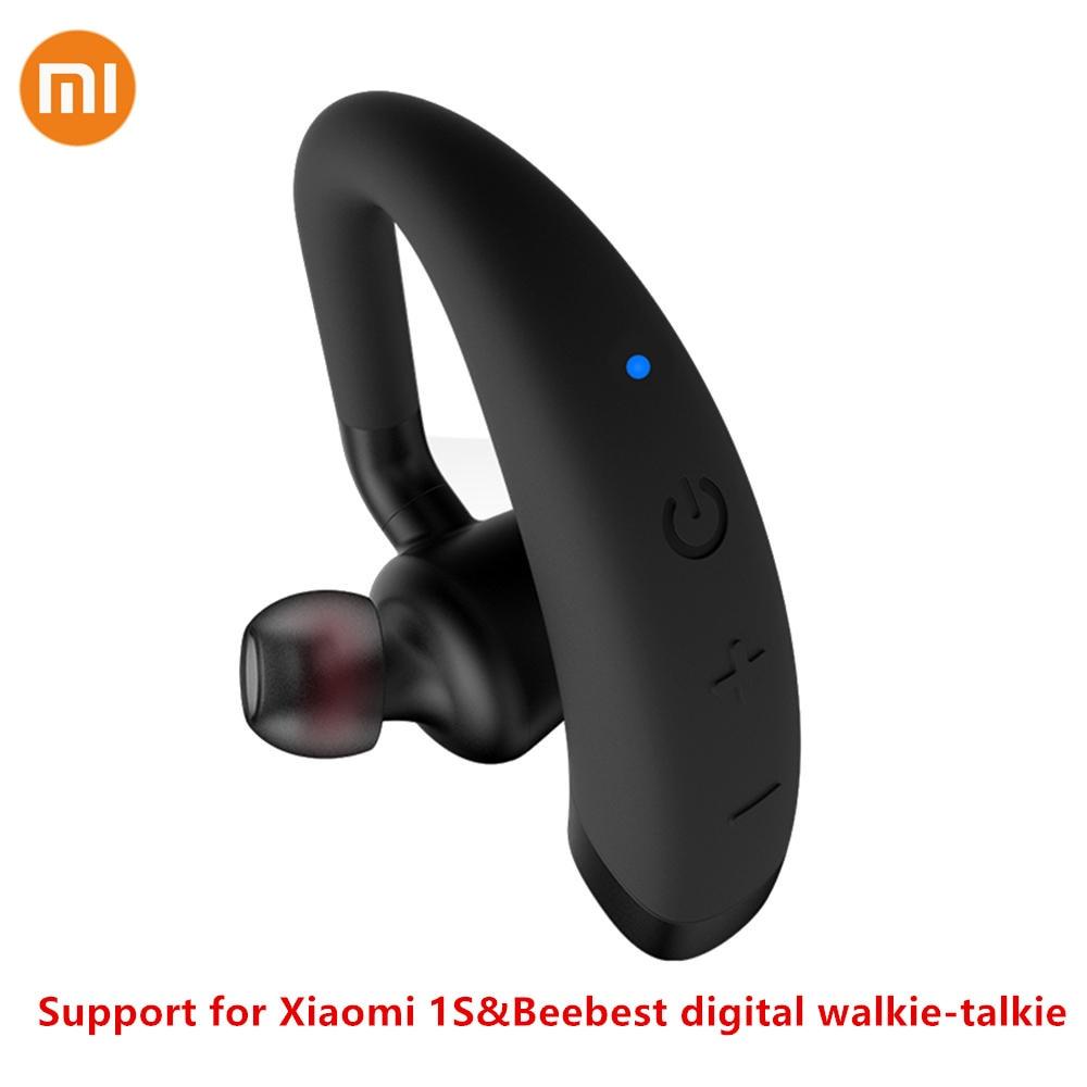 Xiaomi Mijia Beebest Bluetooth Intercom Earphone Ultralight 13g 125H Standby Walkie Talkie Headset Support