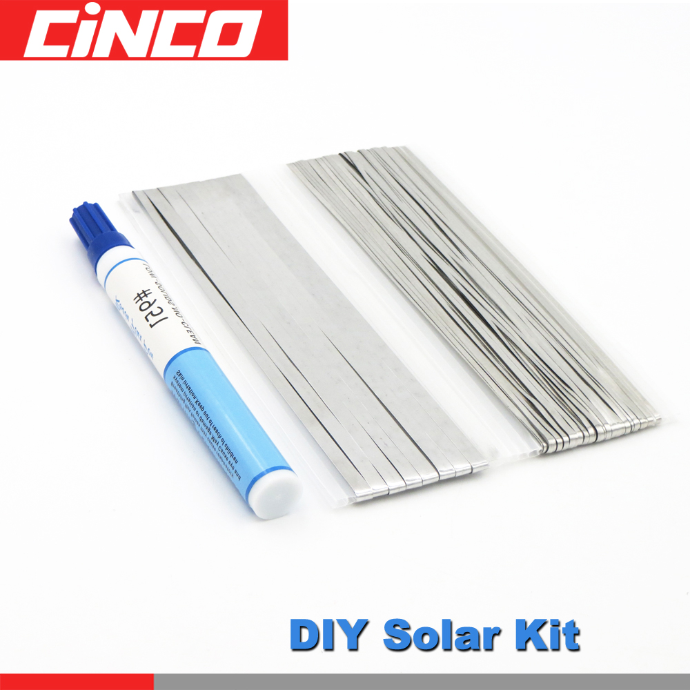 DIY Solar Kit 66ft Tabbing TabWire+6ft PV Ribbon Bus wire+1pc 951 Soldering Rosin Flux Pen Soldering Solar Cell Panel kesterDIY Solar Kit 66ft Tabbing TabWire+6ft PV Ribbon Bus wire+1pc 951 Soldering Rosin Flux Pen Soldering Solar Cell Panel kester