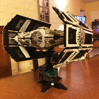 Star Building Bricks Wars 05055 The Rogue TIE One USC Vader Advanced Fighter Set Model 1242pcs