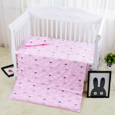 Promotion! 3PCS New Arrive cotton kids baby bedding set customized for newborn girls and boys,Duvet Cover/Sheet/Pillow Cover, 3pcs baby bedding set black star and stripe design 100% cotton kids bedding set customized for newborn girls and boys
