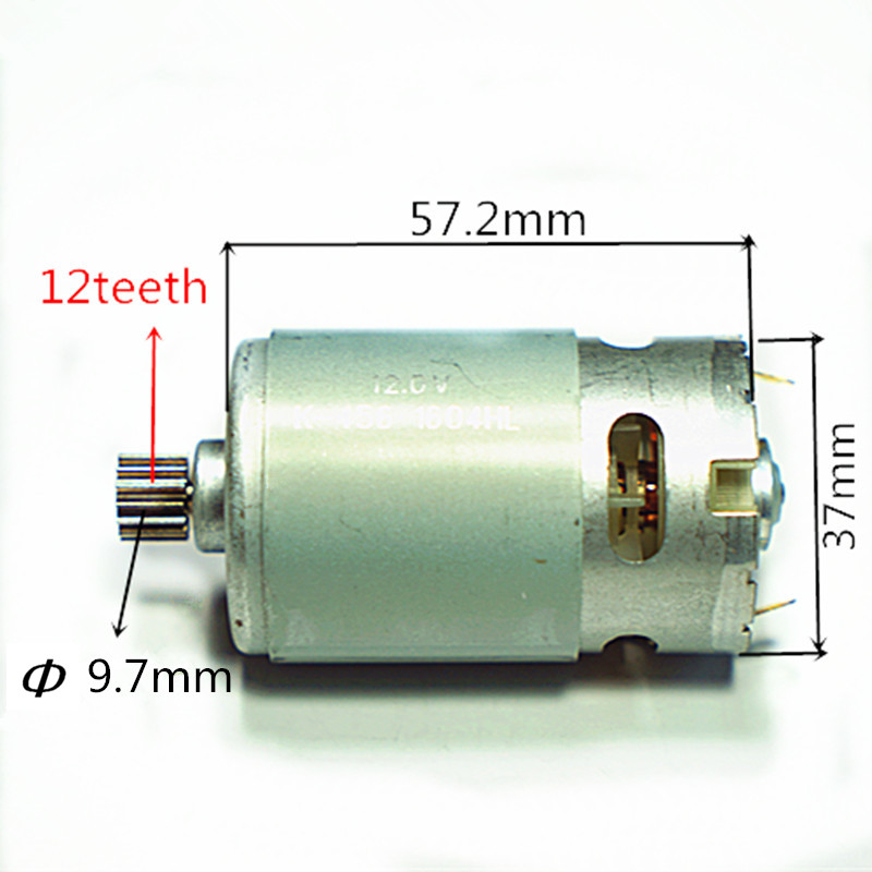 12 Teeth Replacement Motor DC 12V  For  BOSCH 2 609 120 259 GSR12V GSR12-2 GSB12VE-2 GDR12V RS-550PC-8019 Cordless Drill for bosch gsr 12v gli 12v ahs gsb gsr psr 12 12ve battery 1 5ah ni cd bat043 bat045 bat046 bat049 bat120 bat139 26073 35555