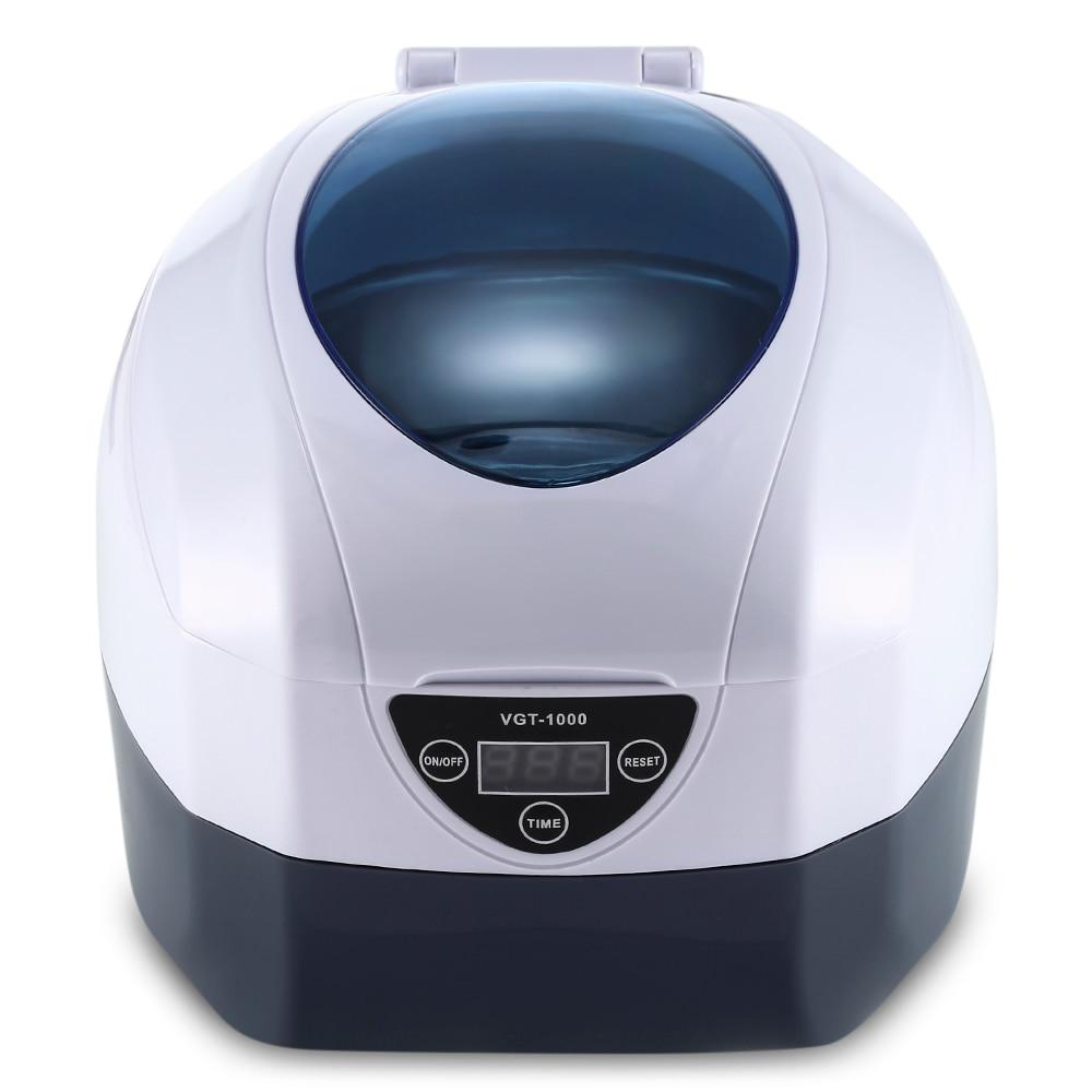 Ultrasonic Sterilizer VGT - 1000 0.75L Ultrasonic Manicure Sterilizer Cleaner Sterilizing Nail Tools Disinfection Machine vgt 1000 0 75l ultrasonic manicure sterilizer cleaner sterilizing nail tools disinfection cleaning machine