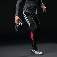 Men Sports Running Pants Pockets Athletic Football Soccer pant Training sport Pants Elasticity Legging jogging Gym Trousers 316