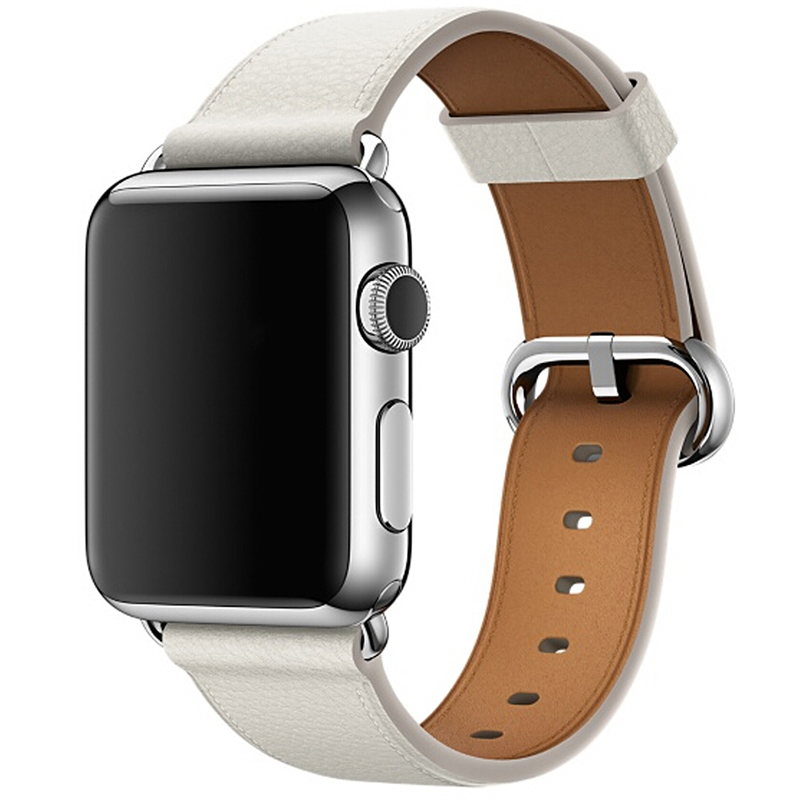 Watch Accessories Genuine Leather For Apple Watch Band 42mm  & 38mm For Apple Watch Bands Series 4 3 2 1 Watch Strap