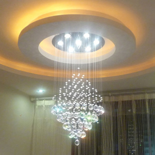 FREE SHIPPING EMS Crystal Lamp Living Room Lights Circle Ceiling Lights  Decoration Taper PENTAND