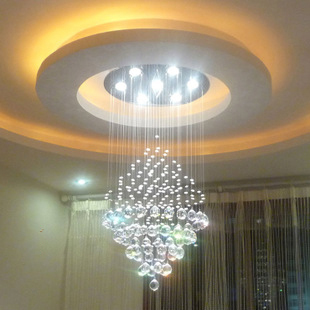 Aliexpress.com : Buy crystal lamp living room lights circle Ceiling ...