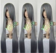 mac makeup cosplay wig ll! Final Fantasy Sephiroth Cosplay Wig Grey 100CM