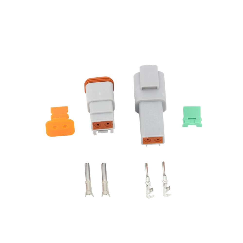 6 Sets Lot 6 Models DT06 DT04 2 3 4 6 8 12 Pin Engine Gearbox Waterproof Electrical Connector For Car Bus Motor Truck 22 16AWG in Connectors from Lights Lighting