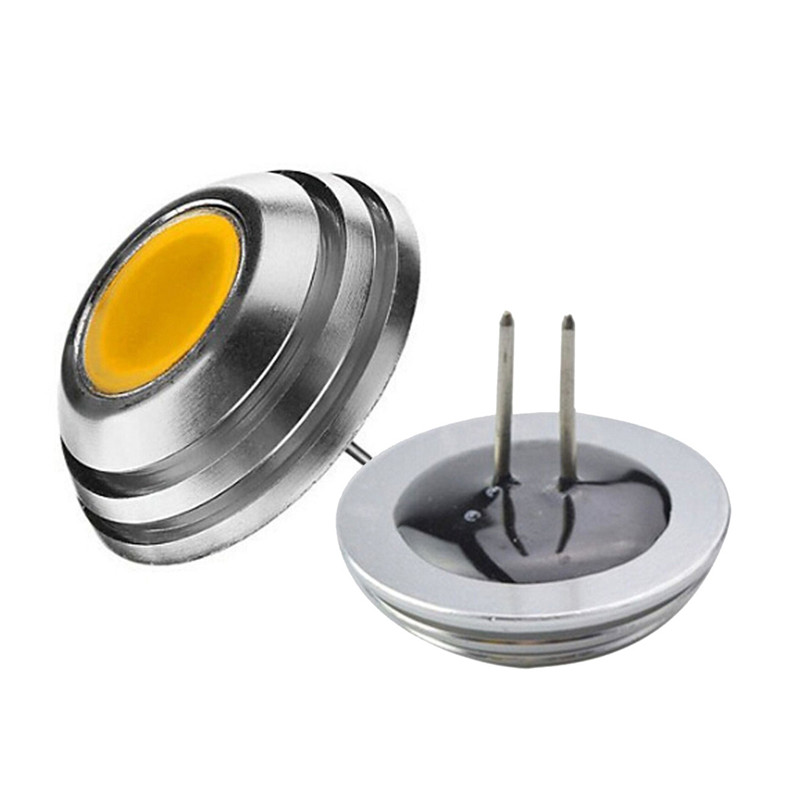 1PC Super Brigth UFO Design Umbrella Lamp LED Downlight High Power <font><b>G4</b></font> LED Bulb COB <font><b>3W</b></font> <font><b>12V</b></font> DC White Warm White 1LED Bulb Light image