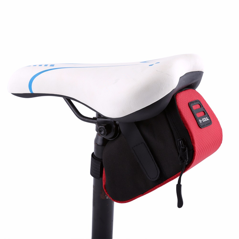 Bicycle Waterproof Saddle Bag Outdoor Bike Storage Seat Cycling Tail Rear Pouch