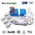 Dimmable and Non-Dim 6 шт./компл. + Драйвер + кабели 2 Вт 180Lm 80Ra домашний новый модный декоративный светильник 15 мм светодиодный точечный мини-светильник
