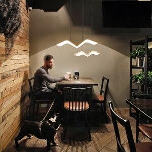 Image 2 - Asılı dekor DIY Modern Led kolye ışıkları yemek odası için mutfak odası Bar süspansiyon armatür suspendu kolye lamba