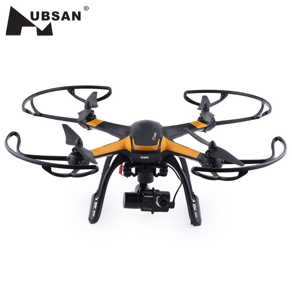 New Hubsan H109S PRO RC Drones 5.8G FPV 1080P HD Camera GPS 2.4Ghz 6 Axis 7CH RC Quadcopter with Axis Brushless Gimbal RC Drone yuneec typhoon h 5 8g fpv drone with realsense module cgo3 4k camera 3 axis gimbal 7 inch touchscreen rc hexacopter rtf