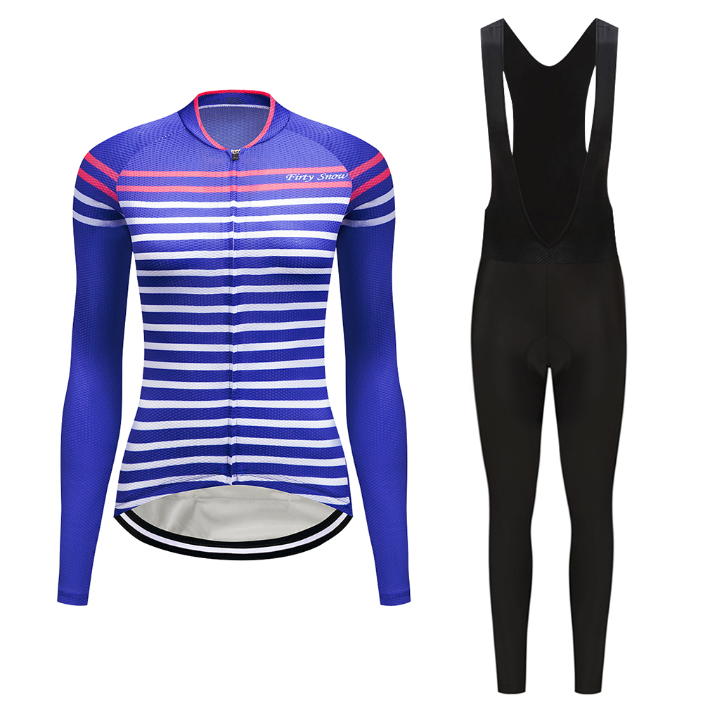 Firty Snow Women Cycling Jersey Clothing Mtb Bicycle Clothes Female Ciclismo Long Sleeves Bike Cycling Clothes Riding Shirt 2018