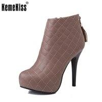 Kobiety botki zimowe ciepłe kobiety lady połowa P2910 mody sexy krótkie buty zimowe buty rozmiar 33-40