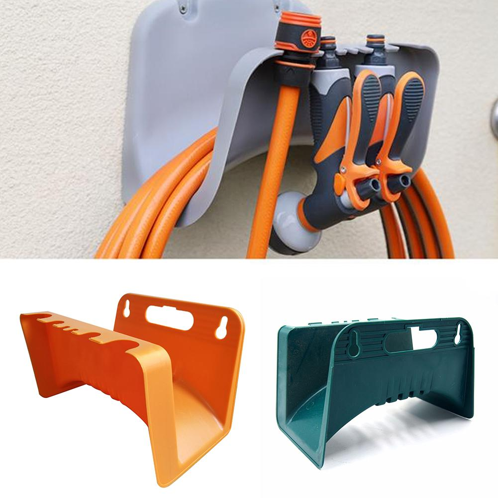 Wall Mounted Garden Hose Pipe Cable Hanger Holder Tidy Bracket Rack Fence Shed
