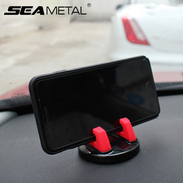 Car Phone Holder Stands Rotatable Support Anti Slip Mobile 360 Degree Mount Dashboard GPS Navigation Universal Auto Accessories