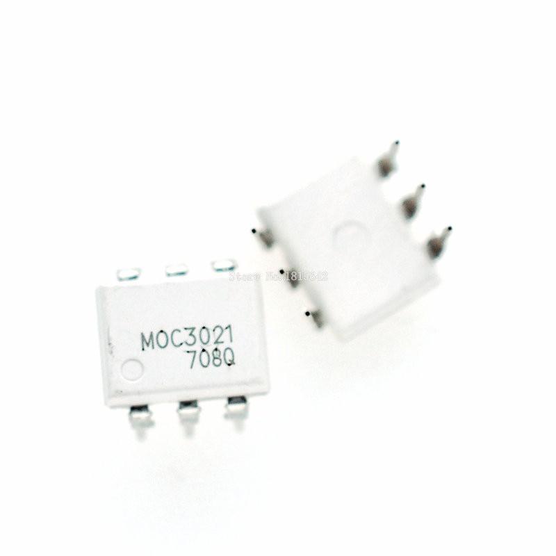 10PCS/LOT MOC3021 3021 DIP6 DIP Optocoupler Isolator New Dip-6 SIP-6