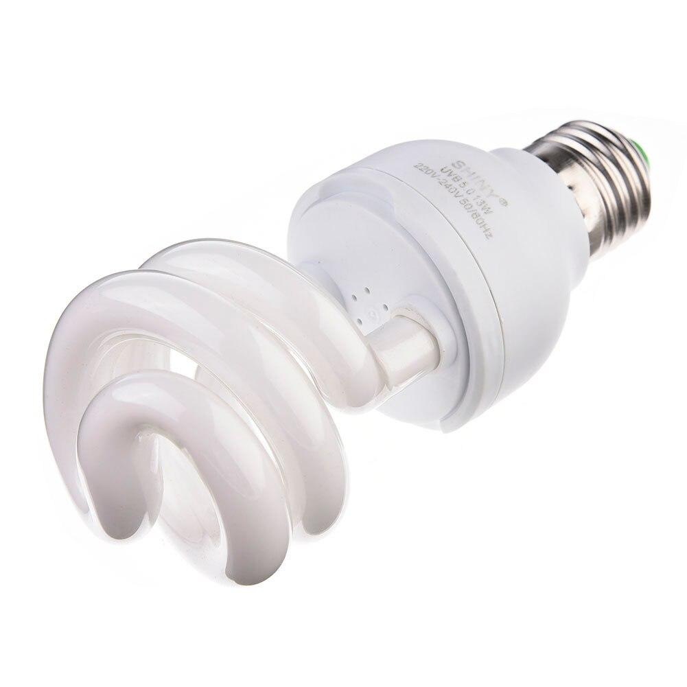 New UVB Lamp Calcium Supplement Light Bulb for ReptilesTortoise 13W E27 Light Night Lamp Heating For Turtles Lizards And Snakes
