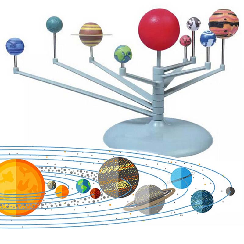 Candid [drop Shipping] Solar System Planetarium Model Kit Astronomy Science Project Diy Kids Gift Worldwide Sale Diy Games And Puzzles With The Most Up-To-Date Equipment And Techniques