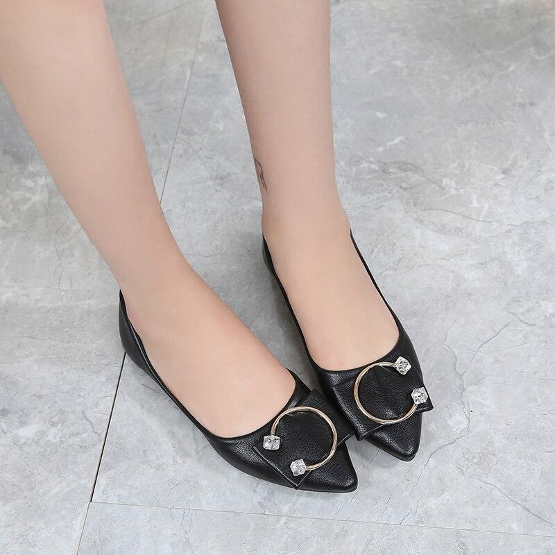 noir Mélangées Odinokov Ballet Confortables Glissent Chaussures Haute Plat Appartements Ballerine blanc Femmes Couleurs Des Sur Pointu Mode Qualité Base Bout De Beige Rq7Rxr
