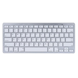 Image 3 - French Russian English Spanish Wireless Bluetooth 3.0 keyboard for Tablet Laptop Smartphone Support iOS Windows Android System