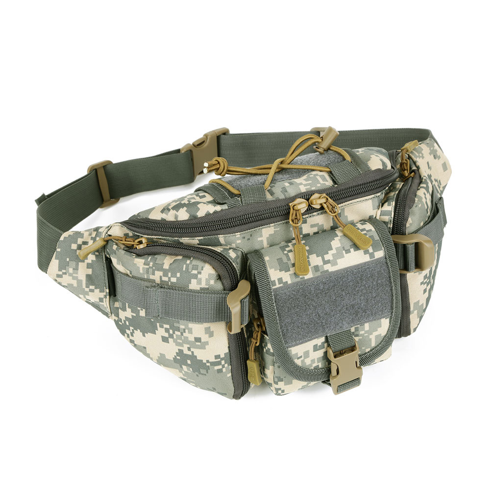 Camouflage First Aid Kits Tactical Waist Bag Nylon 800D Waterproof Fanny Pack Camping Bag Belt Military Backpack  Emergency Kits