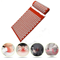 Acupressure Massager Mat Relaxation Relief Stress Tension Body Yoga Mat ABS Spike Cushion Relieve Stress Pain Shakti Mat Message & Relaxation