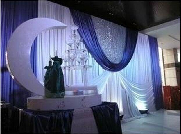 font b Wedding b font arrangement 3mx6m font b backdrop b font marriage stage font