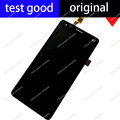 Para o preto 100% display lcd original + montagem da tela de toque TP elephone P3000 p3000s 2 gb p3000c Painel de Digitador de Vidro