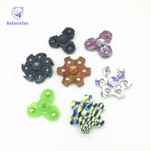 2017 New Styles Fidget Spinner High Quality EDC Hand Spinner For Autism and ADHD Rotation Time Long Anti Stress Toys Kid Gift